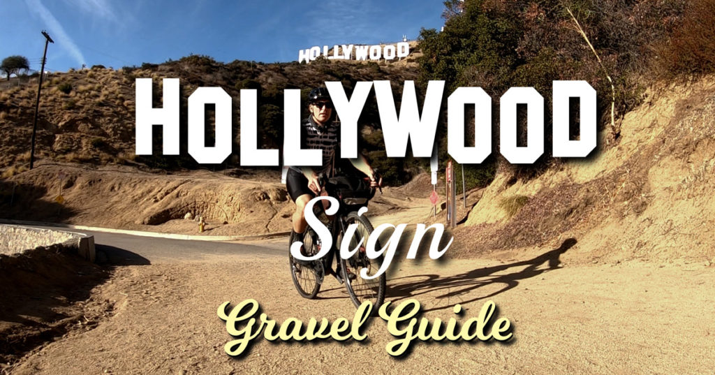 biking the hollywood sign title