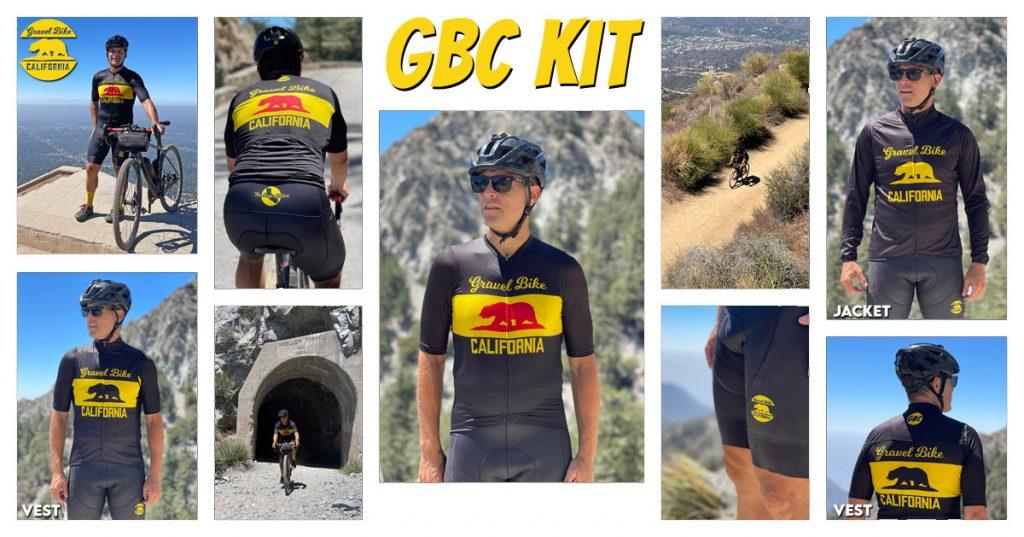gravel bike california kit
